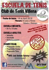 clases tenis